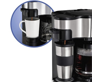 Best Travel 12-Cup Programmable Hamilton Beach Coffee Maker