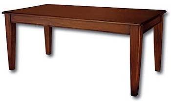 Best Wooden 10-Person Farmhouse Laurel Crown Table