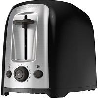 Black+Decker TR1278B Black Toaster Rundown