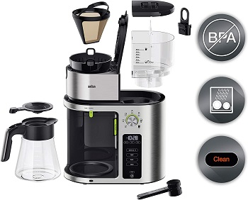 Braun KF9070SI Coffee Maker Review