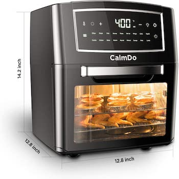 CalmDo Smallest Toaster Oven Air Fryer Review