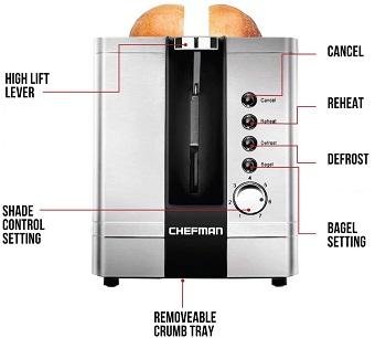 Chefman 2-Slice Toaster Review
