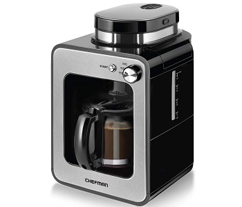 Chefman Grind And Brew 4 Cup Coffee Maker