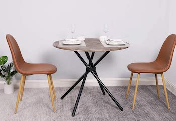 Coavas Industrial Kitchen Dining Table
