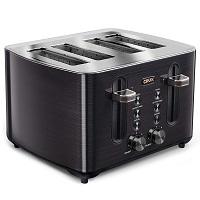 Crux 14807 Black Steel Toaster Rundown