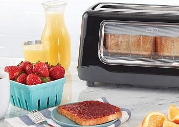 Dash DVTS501BK Black Toaster