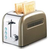 Dvonl 2-Slice Bronze Toaster Rundown