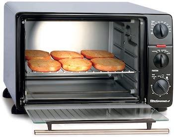 Elite Gourmet Toaster Oven Rotisserie Review