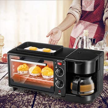 Greensen Coffee Pot Toaster Oven And Griddle Review
