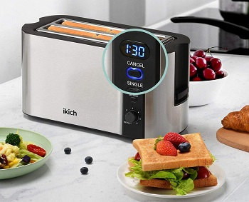 Ikich 2 Long Slot Toaster Review