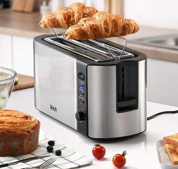 Ikich 2 Long Slot Toaster