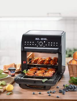 Ikich Air Fryer Oven Toaster Review