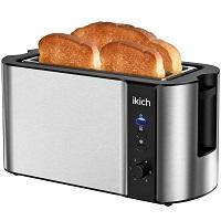 Ikich Long Slot Toaster Rundown