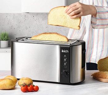 Ikich Long Slot Toaster