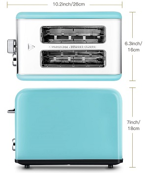Keemo WT-8100 Compact Toaster