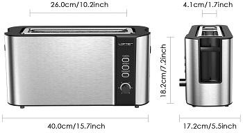 Lofter Long Slot Toaster