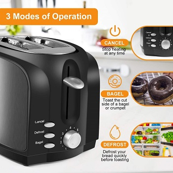 LoweXII Black Steel Toaster Review