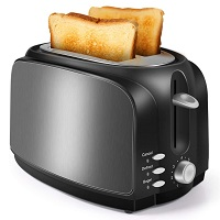 LoweXII Black Steel Toaster Rundown