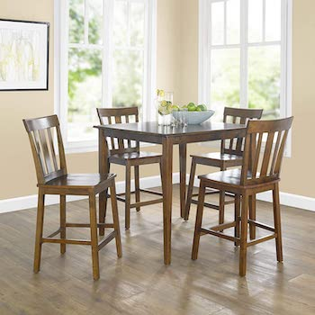 Mainstay 4 Seat High Top Table & Chairs