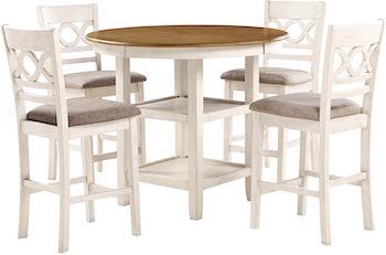 New Classic Furniture Cori 5 Pc Dining Set