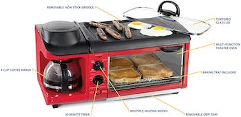 Nostalgia Breakfast Station Oven Review