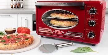 Nostalgia Toaster Oven 0.7 Cubic Feet