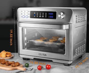 Ostba Toaster Oven With Rotisserie And Air Fryer Review