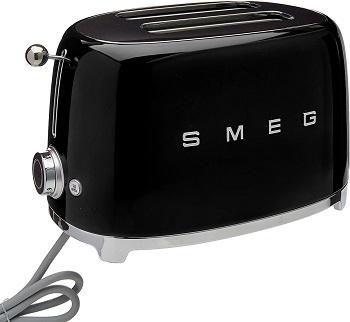 Smeg TSF01 Black Toaster