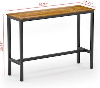 Teraves Kitchen Bar Table