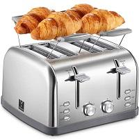 Yabano Extra-Wide Slot Toaster Rundown
