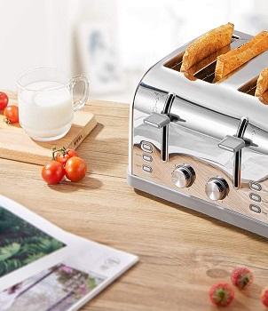 Yabano Extra-Wide Slot Toaster