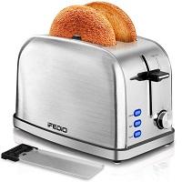iFedio Compact 2-Slice Toaster Rundown