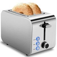 iFedio Wide Slot Toaster Rundown