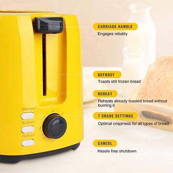 iSiler TA01302-UL Compact Toaster