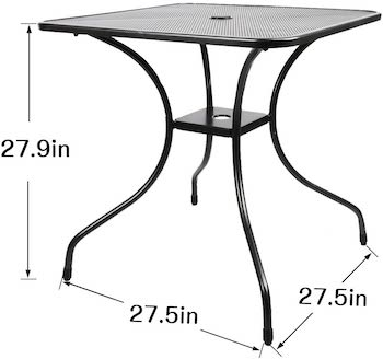 Baniromay Patio Dining Table