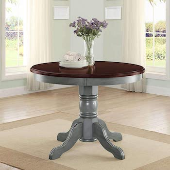 Best 4-Seat 42'' Round Pedestal Dining Table