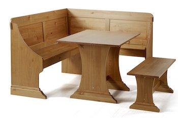 Best 6-Seat 3-Piece Nook Dining Set