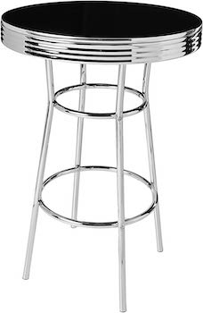 Best Chrome 1950s Kitchen Table And Chairs