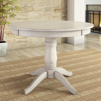 Best Farmhouse 42 Inch Round Pedestal Table