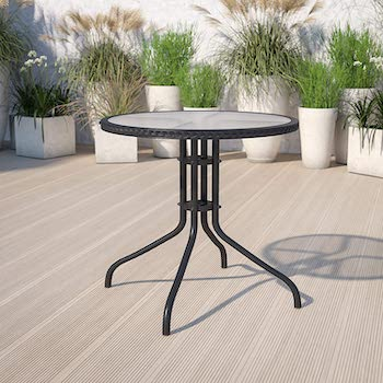Best Glass28-Inch Wide Dining Table