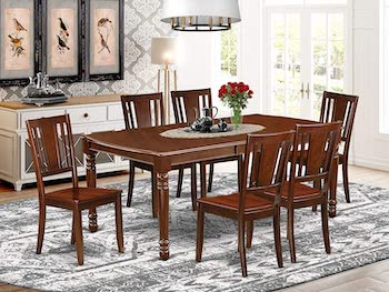 Best Mahogany 1950s Dining Table And Chairs
