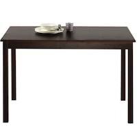 Best Modern24 Inch Wide Rectangular Dining Table Rundown