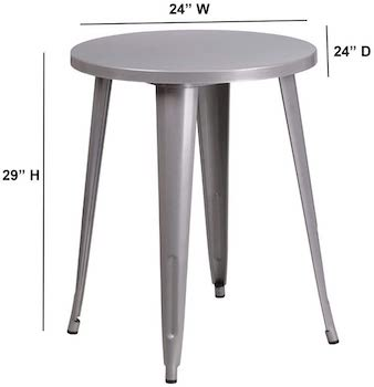 Best Of Best 24-Inch Round Dining Table