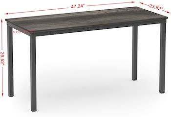 Best Of Best 24 Inch Wide Rectangular Dining Table