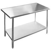 Best Of Best 24 x 48 Stainless Steel Table Rundown