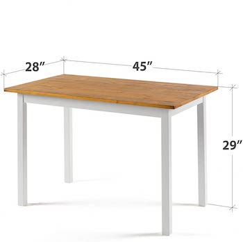 Best Of Best 28-Inch Wide Dining Table