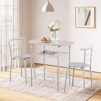 Best Of Best 3-Piece Dining Set For Small Space