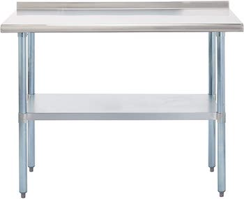 Best Restaurant 24 x 48 Stainless Steel Table