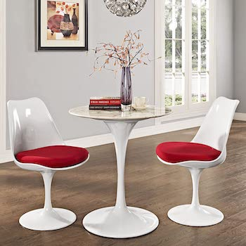 Best Round 28-Inch Wide Dining Table