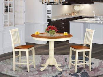 Best Round 3-Piece High-Top Table Set